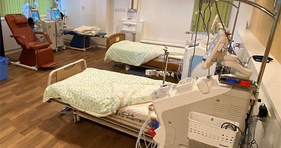 感染症時隔離透析室(4台)